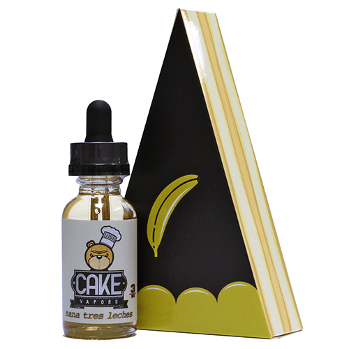 Cake Vapors - Nana Tres Leches - 30ml - 30ml / 0mg