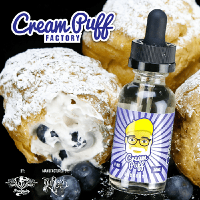 Cream Puff Factory - Blueberry - 30ml - Wholesale on the Top Vape and eJuices - eJuices.co - 2