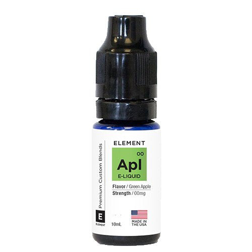 Element eLiquid Traditionals - Green Apple - 10ml - Wholesale on the Top Vape and eJuices - eJuices.co