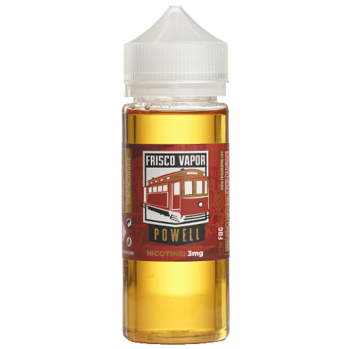 Frisco Vapor - Powell - 120ml - Wholesale on the Top Vape Products and eJuices - eJuices.co