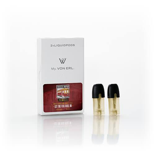 Frisco Vapor - My. Von Erl LiquidPods - Powell (2 Pack) - Wholesale on the Top Vape Products and eJuices - eJuices.co