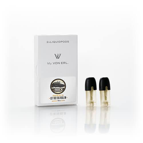 Frisco Vapor - My. Von Erl LiquidPods - The Rock (2 Pack) - 0mg