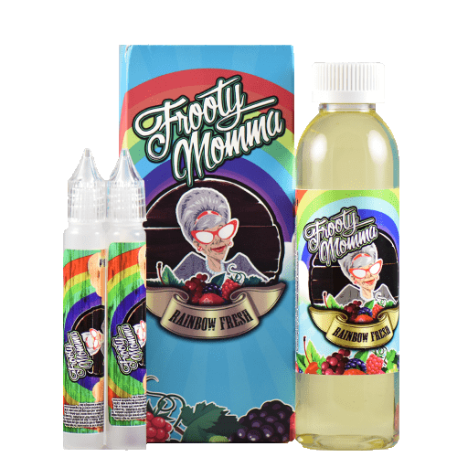 Frooty Momma E-Juice - Rainbow Fresh - 180ml - Wholesale on the Top Vape Products and eJuices - eJuices.co