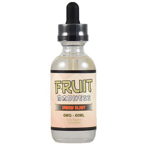 Fruit Madness Eliquids - Berry Blast - 60ml - 60ml / 0mg