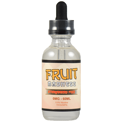 Fruit Madness Eliquids - Strawberry Fuzz - 60ml - 60ml / 0mg
