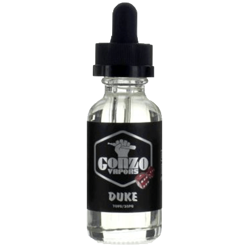 Gonzo Vapors - Duke - 30ml - Wholesale on the Top Vape Products and eJuices - eJuices.co