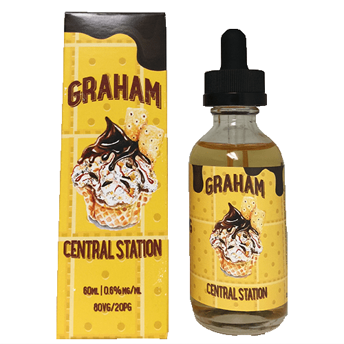 Graham Central Station E-Juice - 60ml - 60ml / 3mg