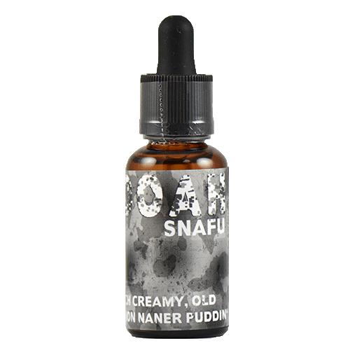 HOOAH E-Liquid - SNAFU - 30ml - 30ml / 4mg