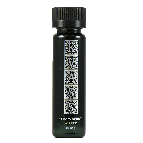 KVASS Premium E-Liquid - Strawberry Wafer - 30ml - 30ml / 0mg