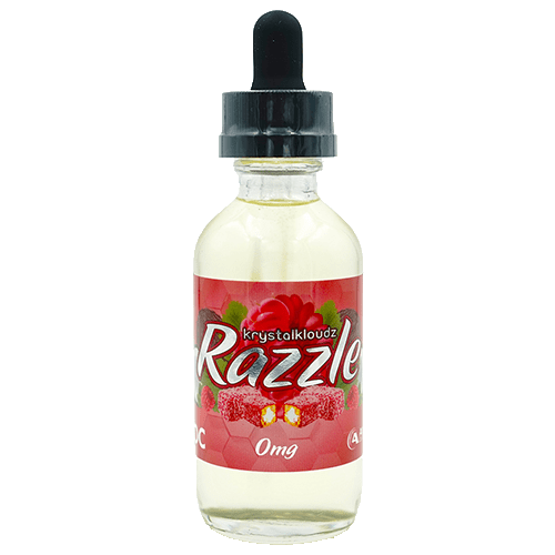 Krystal Kloudz eLiquids - Razzle - 60ml - Wholesale on the Top Vape Products and eJuices - eJuices.co