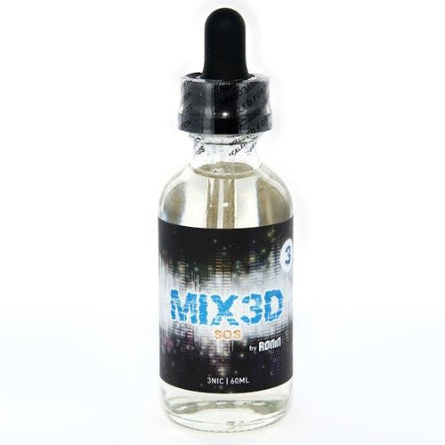 MIX3D by Ronin Vape Co. - SOS - 60ml - Wholesale on the Top Vape Products and eJuices - eJuices.co