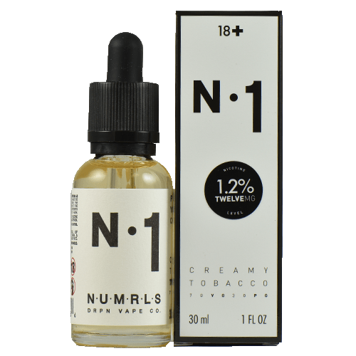 NUMRLS E-Liquid - N.1 - 30ml - Wholesale on the Top Vape and eJuices - eJuices.co