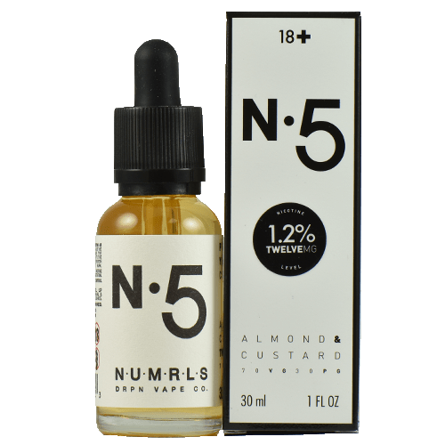 NUMRLS E-Liquid - N.5 - 30ml - Wholesale on the Top Vape Products and eJuices - eJuices.co