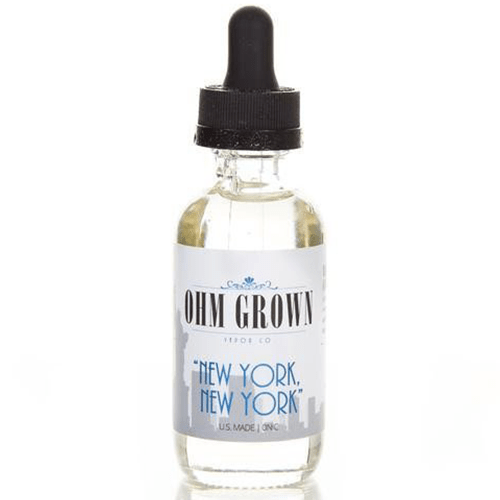 "Ohm Grown Vapor Co. - ""New York, New York"" - 60ml - Wholesale on the Top Vape Products and eJuices - eJuices.co"