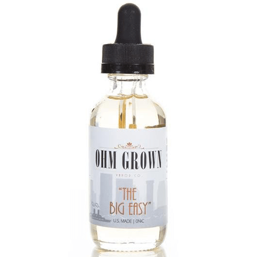 "Ohm Grown Vapor Co. - ""The Big Easy"" - 60ml - Wholesale on the Top Vape Products and eJuices - eJuices.co"