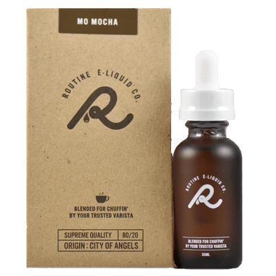 Routine E-Liquid Co. - Mo Mocha - 30ml - Wholesale on the Top Vape and eJuices - eJuices.co