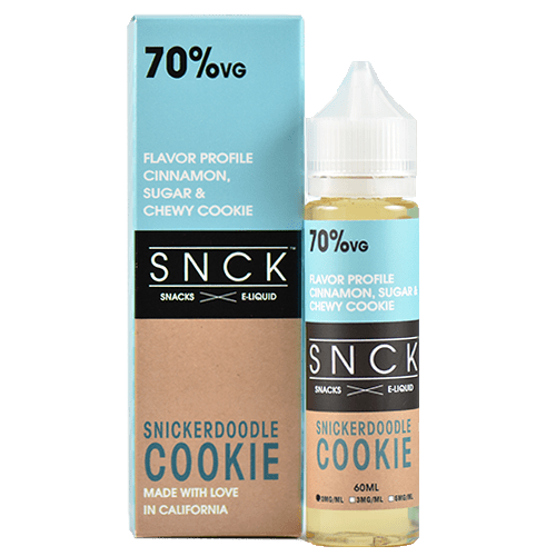 SNCK Snacks E-Liquid - Snickerdoodle Cookie - 60ml - Wholesale on the Top Vape Products and eJuices - eJuices.co