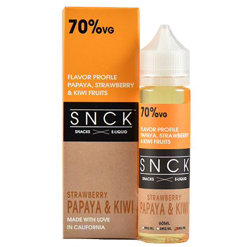 SNCK Snacks E-Liquid - Strawberry Papaya Kiwi - 60ml - Wholesale on the Top Vape Products and eJuices - eJuices.co