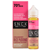SNCK Snacks E-Liquid - Strawberry Rice Pudding & Graham Crackers - 60ml - Wholesale on the Top Vape and eJuices - eJuices.co
