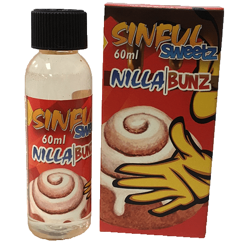 Sinful Sweetz E-Liquid - Nilla Bunz - 60ml - Wholesale on the Top Vape Products and eJuices - eJuices.co