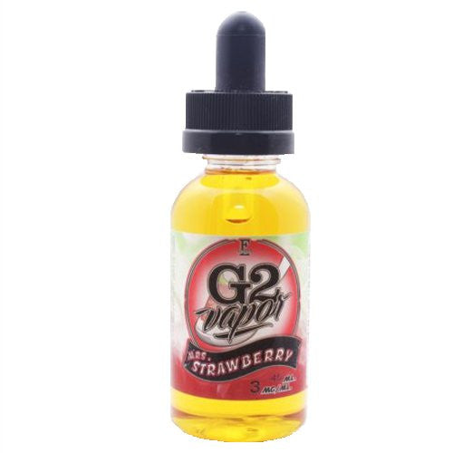 G2 Vapor eLiquids - Mrs. Strawberry - 45ml - Wholesale on the Top Vape and eJuices - eJuices.co