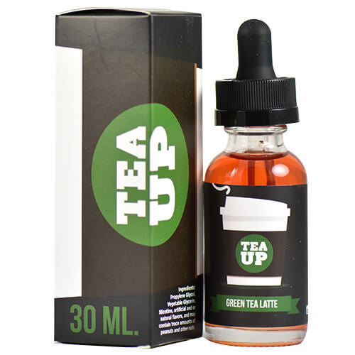 TeaUp Vapory - Green Tea Latte - 30ml - Wholesale on the Top Vape Products and eJuices - eJuices.co