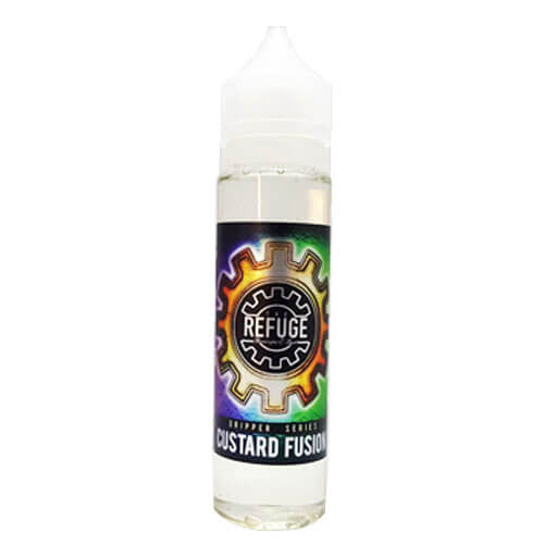 The Refuge Handcrafted E-Liquid - Custard Fusion - 120ml - Wholesale on the Top Vape Products and eJuices - eJuices.co