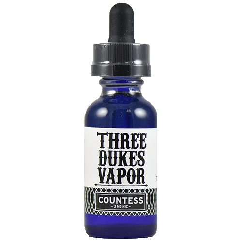 Three Dukes Vapor - Countess - 30ml - Wholesale on the Top Vape and eJuices - eJuices.co