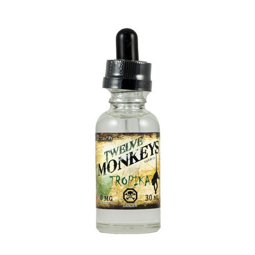 Twelve Monkeys Vapor - Tropika - 30ml - Wholesale on the Top Vape Products and eJuices - eJuices.co