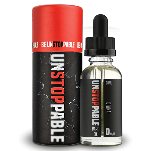 Unstoppable Vape Co. - Diana - 30ml - Wholesale on the Top Vape Products and eJuices - eJuices.co