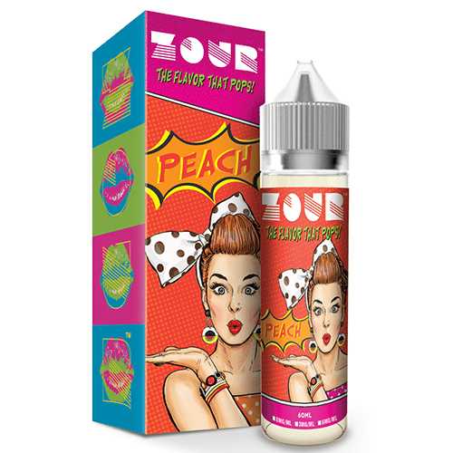 Zour eLiquids - Peach - 60ml - Wholesale on the Top Vape Products and eJuices - eJuices.co