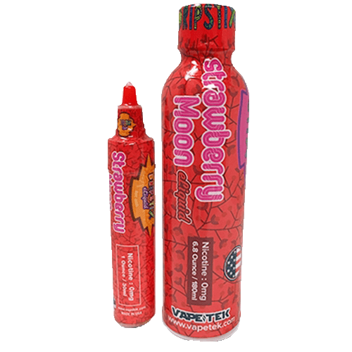 Dripstix E-Liquid - Strawberry Moon - 210ml - Wholesale on the Top Vape and eJuices - eJuices.co