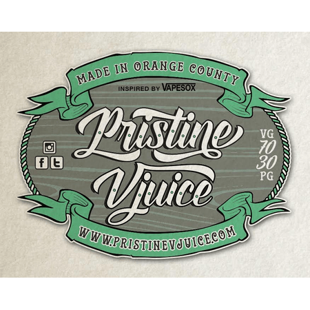 Pristine vJuice - Sample Pack - 30ml / 6mg