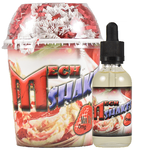 MechShakes E-Juice - Strawberry - 60ml - 60ml / 0mg