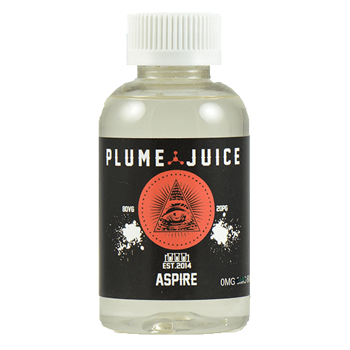 Plume Juice E-Liquid - Aspire - 120ml - 120ml / 0mg