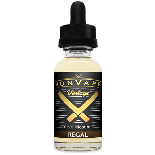 Von Vape Vintage - Regal - 15ml - Wholesale on the Top Vape and eJuices - eJuices.co