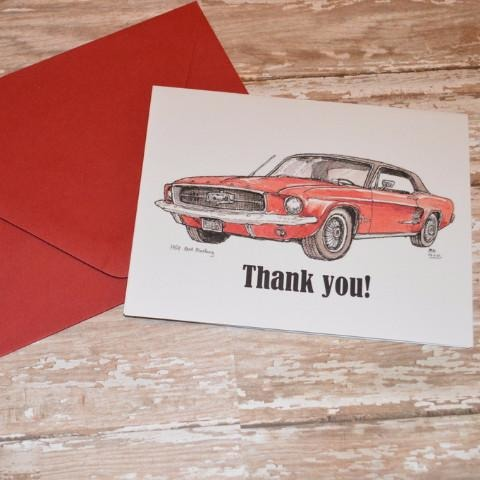Red Mustang Thank You's