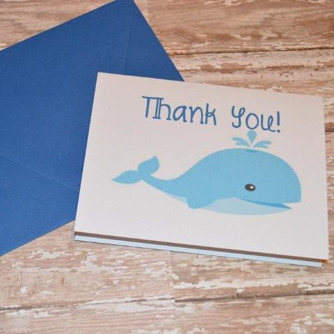 Whale Thank You's