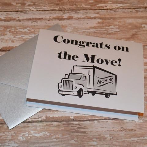 Moving Card- Set of 6