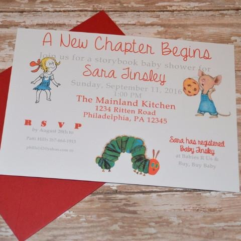 Children's Storybook Baby Shower