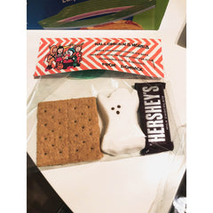 DIGITAL: Halloween S'mores DIY Kit Favor Tag