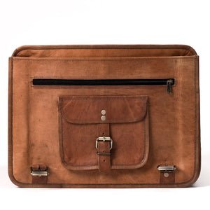 Camel Leather Bag: Journeyer Far Horizon Traders