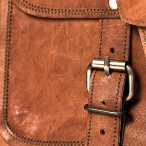 Camel Leather Bag: Trader Far Horizon Traders