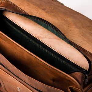 Camel Leather Bag: Graduate Far Horizon Traders