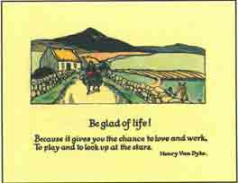 #251 'Be Glad Of Life'