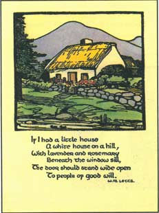 #270 'Little House' Cuala Press