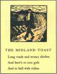 #36 'The Midland Toast' Cuala Press