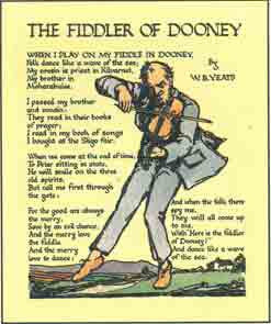 #58 'The Fiddler of Dooney' Cuala Press