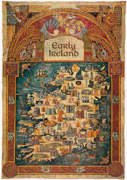 Early Ireland Map