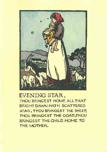 #102 'Evening Star' Cuala Press